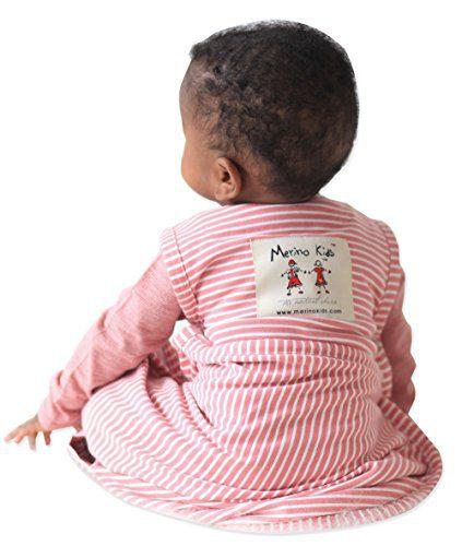 Merino Kids Baby Sleep Bag, 0-2 years, Raspberry