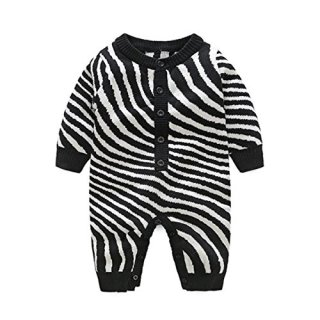 Fairy Baby Baby Boy Girl Knitted Sweater Geometry Jumpsuits Romper