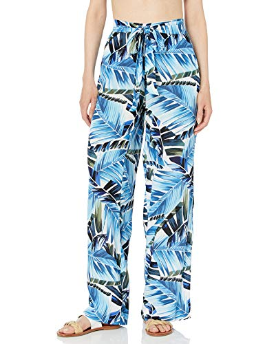 La Blanca Women's Swimsuit Cover Up Pant, Blue