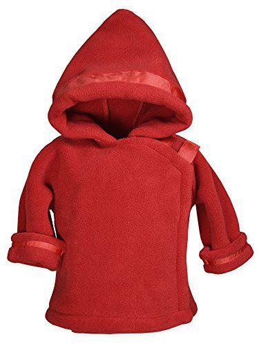 Widgeon Baby Boy's Warm Plus Fleece Jacket, Red