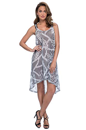 Profile by Gottex Women's Racerback Scoop Neck Beach Dress