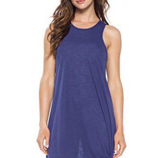 Becca by Rebecca Virtue Women's High Neck Tank Dress