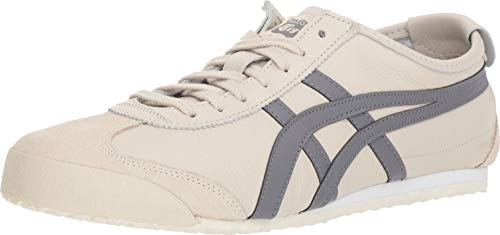 Onitsuka Tiger Unisex Mexico 66 Shoes, Oatmeal/Carbon