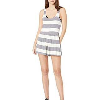 Splendid Women's Sleeveless Short Swimsuit Cover Up Romper