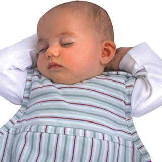 Merino Kids Organic Cotton Baby Sleep Bag for Toddlers