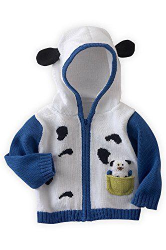 Joobles Organic Baby Cardigan Sweater - Pip the Dog