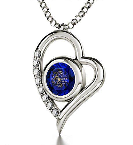 Nano Jewelry Sterling Silver Heart Pendant Necklace