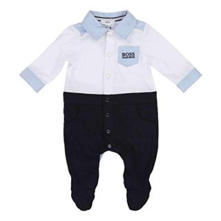 Hugo Boss Kids White Navy Pyjamas