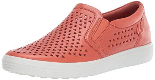 ECCO Women's Women's Soft 7 Slip-on Sneaker, Apricot Laser Cut