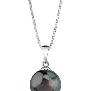 THE PEARL SOURCE 10-11mm Genuine Tahitian South Sea Cultured Pearl