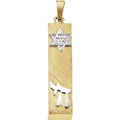 Jewels By Lux 14K Yellow and White Two Tone Gold