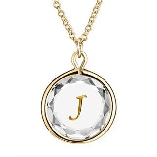 "LovePendants 16-18"" Pendant/Necklace in White Swarovski Crystal"
