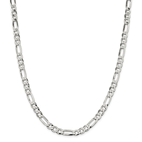 Pori Jewelers Sterling Silver Figaro Chain Necklace