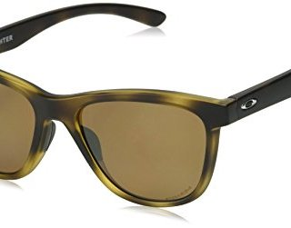 Oakley Women's Moonlighter Round Sunglasses, Matte Tortoise
