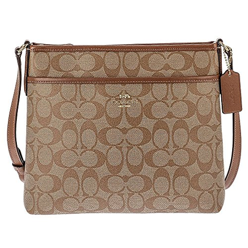 COACH FILE CROSSBODY IN SIGNATURE CANVAS