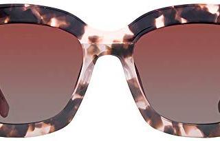 DIFF Eyewear - Carson - Himalayan Tortoise + Rose Gradient