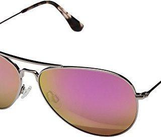 Maui Jim Mavericks | Polarized Rose Gold Aviator Frame Sunglasses