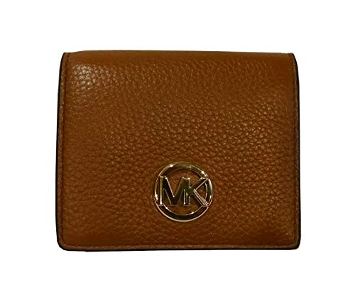 Michael Kors Fulton Leather Carryall Card Case Wallet