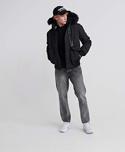 Superdry Everest Bomber Jacket Jet Black