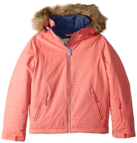 ROXY Little American Pie Girl Embossed Snow Jacket