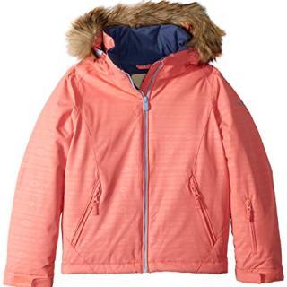 ROXY Little American Pie Girl Embossed Snow Jacket