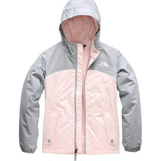 The North Face Girls' Warm Storm Jacket, Pink Salt