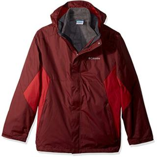Columbia Men's Eager Air Interchange Jacket, Elderberry