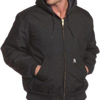 Carhartt Men's Big & Tall Arctic Quilt Lined Yukon Active Jacket,Black