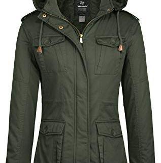 Wantdo Women's Warm Winter Outwear Coat with Removable Hood