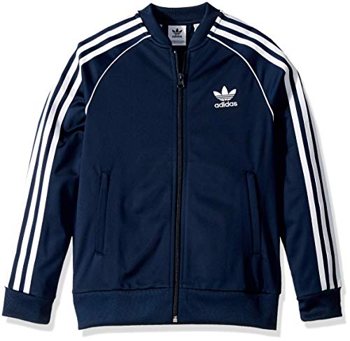 adidas Originals Kids Boy's Superstar Top (Little Kids/Big Kids)