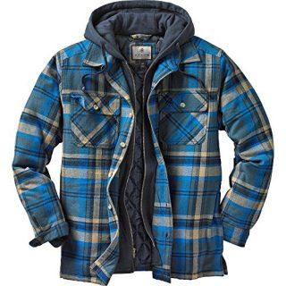 Legendary Whitetails Maplewood Hooded Shirt Jacket