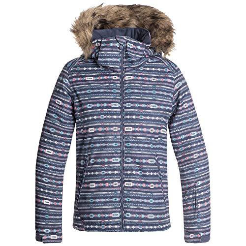 ROXY Little American Pie Girl Snow Jacket, Crown Blue