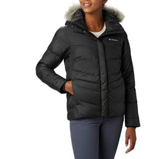 Columbia Women's Peak to Park Insulated Jacket, Black, Large