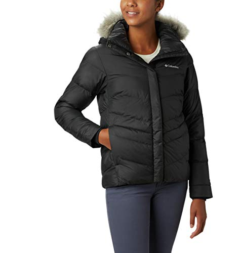 Columbia Women's Peak to Park Insulated Jacket, Black, Large