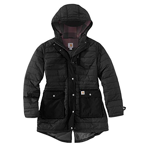 Carhartt Women's Amoret Coat, Black, Large