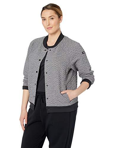 Calvin Klein Women's Plus Size Snap Front Bomber Jacket