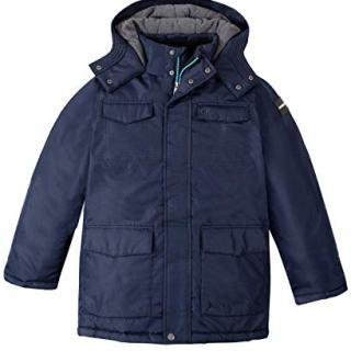 Calvin Klein Boys' Big Resonsance Military Jacket, Navy