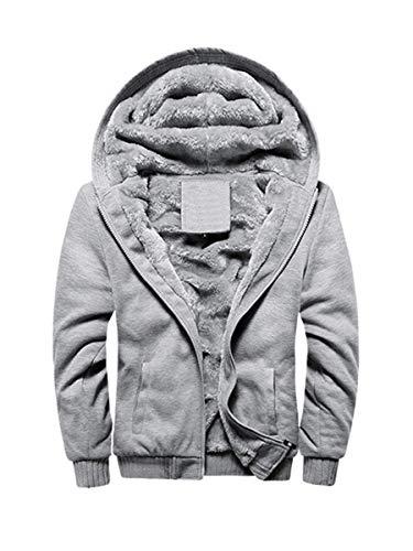 FOURSTEEDS Women's Fleece Lined Zip Up Hoodies Sweatshirt