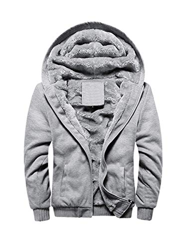 FOURSTEEDS Women's Fleece Lined Zip Up Hoodies Sweatshirt