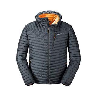 Eddie Bauer Men's MicroTherm 2.0 StormDown Hooded Jacket