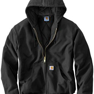 Carhartt Men's Big & Tall Quilted Flannel Lined Duck Active Jacket