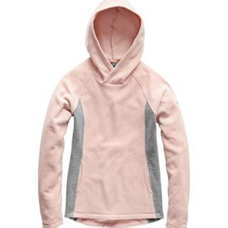 The North Face Girl's Glacier Pullover, Pink Salt