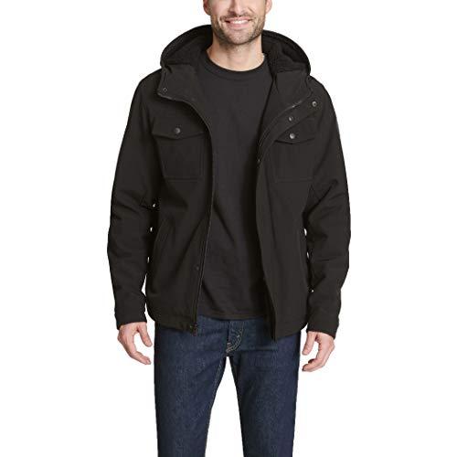 Levi's Men's Soft Shell Two Pocket Sherpa Lined Hooded Trucker Jacket