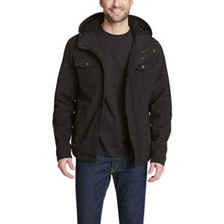 Levi's Men's Soft Shell Two Pocket Sherpa Lined Hooded Trucker Jacket