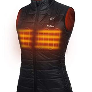Meaneor Heated Vest for Women with Battery Pack, Heat Clothing