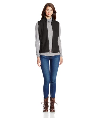 Woolrich Women's Andes Fleece Vest, Black