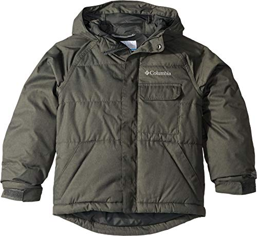 Columbia Boys' Big Casual Slopes Jacket, Grill Heather