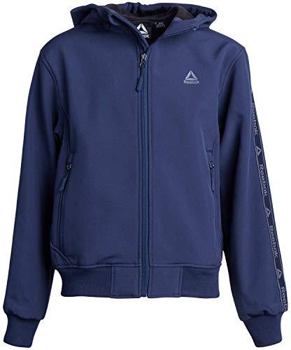 Reebok Boys Soft Shell Fleece Lined Full Zip Jacket
