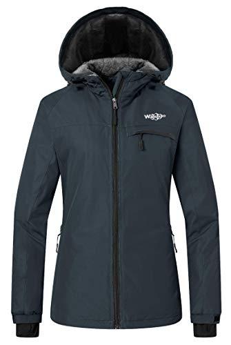 Wantdo Women's Winter Jacket Mountain Waterproof Hoodie