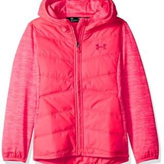 Under Armour Girls' Big ColdGear Minaret Vista Hybrid Jacket